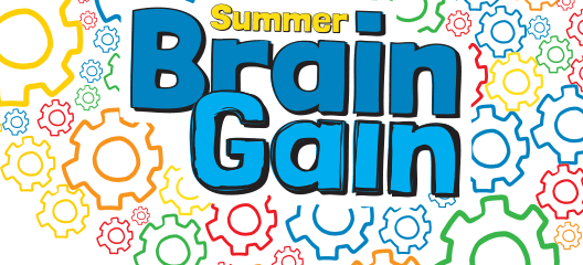 2019 Summer Brain Gain Fun Calendar